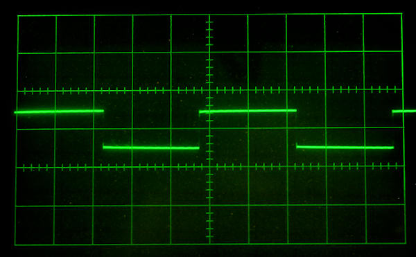image of RG-62 cable waveform